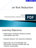 Module 2 Disaster Risk Reduction