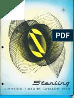 Sterling Lighting Fixture Catalog 1963