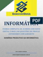 Apostila Banco do Brasil - Informática - DOMÍNIO PRODUTIVO DA INFORMÁTICA