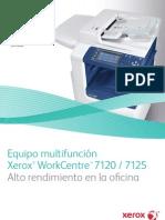 Xerox 7125