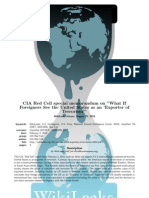 CIA Red Cell-Terrorism Exporting