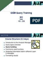 GSM Actix Analisis