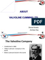 Valvoline Introduction PPT