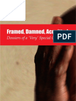 Jtsa Report-framed Damned Acquitted-dossiers of a Very Special Cell