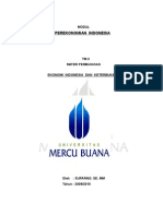 Modul Perekonomian Indonesia - Suparno SE MM Univ MERCU BUANA Jkt