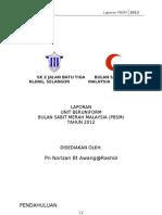 LAPORAN PBSM 2012