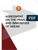 Agreement on the Previliges and Immunities of ASEAN