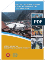 Report of the First Regional Seminar on Industrial Relations in the ASEAN Region ASEAN ILOJapan Industrial Relations Project
