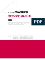 Dish Washers Ldf7811xx Service Manual