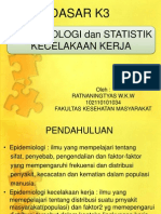 3.Epidemiologi Dan Statistik Kecelakaan Kerja