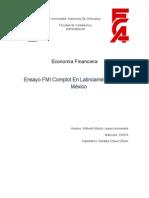Economia Financiera Ensayo