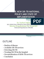 New DR TB National Policy and State of Implementation August 2011 Ndjeka-2