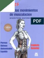 Guia de Los Movimientos de Musculacion MUJERES - Frederik Delavier