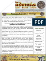 The Academy Spring Newsletter 2012