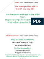AERO3630-Lec_Lifting Line_Finite Wing Theory