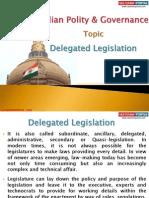 12 (B) Delegated Legislation