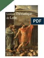 Langue Latin Vocabulaire 20 000 Mots par Thèmes Dunod