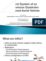 Quadrotor Unmanned Aerial Vehicle - Inertial Measurement Unit