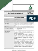 ID SS 03 Taxa de Gravidade
