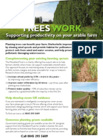 Arable farming flyer