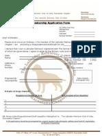 The Labrador Retriever Club of India(Karnataka Chapter)-Membership Form[3]