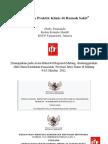 Dody Firmanda 2012 - Panduan Praktik Klinis (PPK)