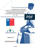 Informe Final Salud Mental SENAME