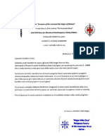 lettera VCFE