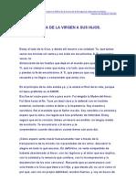 Carta de La Virgen a Sus Hijos.