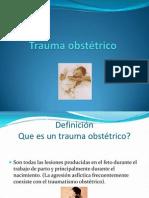 Trauma obstétrico (1)