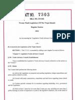 Act No. 7303 (Legislative Youth Advisory Council)