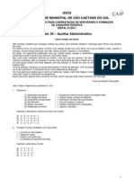 Cod 05 Auxiliar Administrativo Sp Prova