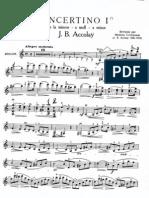 Accolay - Violin Concerto No 1 in LA Minore