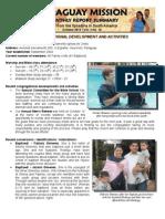 Mission Report - Oct 2012