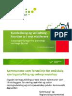 Parallellsesjon 2 - Hege Taarud Innovasjon Norge Oppland