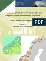 Parallellsesjon 3 - Guttorm Ulla Haram Kommune