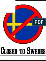 Closed to Swedes