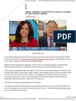 Soledad O'Brien and John Sununu Clash Over Romney Libya Debate
