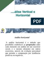 Conteúdo 4 Análise Vertical e Horizontal