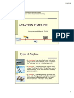 Airport Design Chapter 1 Aviation Timeline
