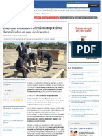 Empresas brindarán viviendas temporales a damnificados en caso de desastres