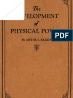Development of physical power