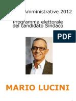 Programma Lucini Sindaco Como
