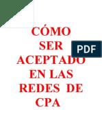 Como Ser Aceptado en Las Redes de Cpa - Victor Orrego