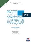 Rapport LG - Pacte compétitivité - 05112012