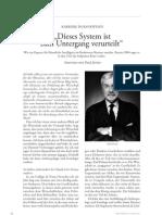 """""""Dieses System ist zum Untergang verurteilt"""" (Interview mit Paul Jorion)"""