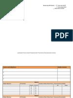 Curriculum Alignment Matrix