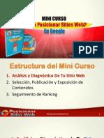 Reporte 01 MiniCurso Posicionar Sitio Web