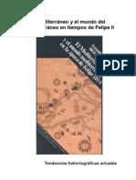RESUMEN Fernand Braudel - El Mediterráneo y el mundo del Mediterráneo en tiempos de Felipe II
