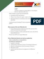 Draft Plebiscites Act - Consultation Document - English